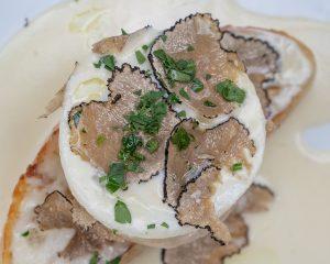 Ellina's Artichoke Bruschetta, Aspen Restaurants, Photo by Jordan Curet