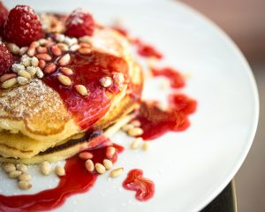 Amanda Rae Busch, Curator and Editor of Aspen Cookbook, Lemon Soufflé Pancakes at The Little Nell