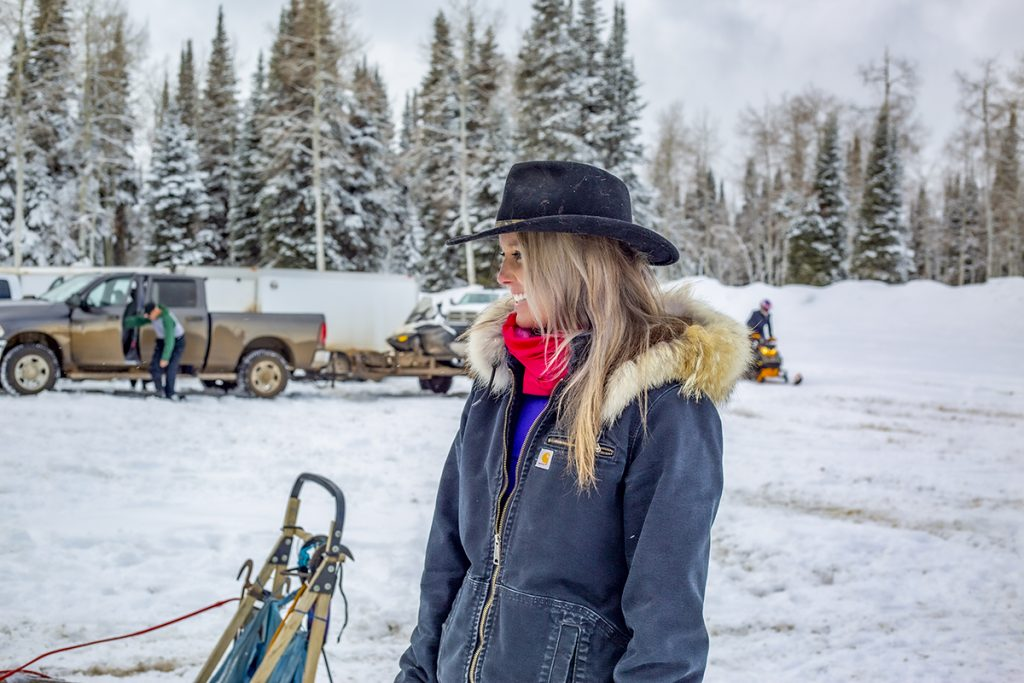 Kristin smiling loving Colorado lifestyle