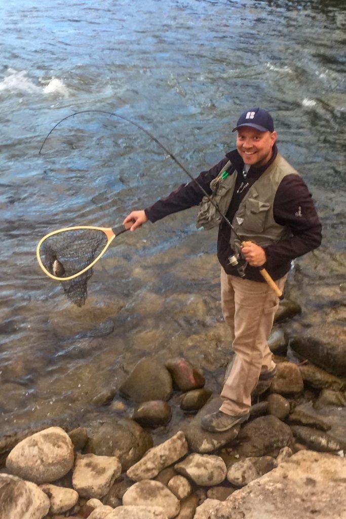 Ronny Fishing Colorado Lifestyle