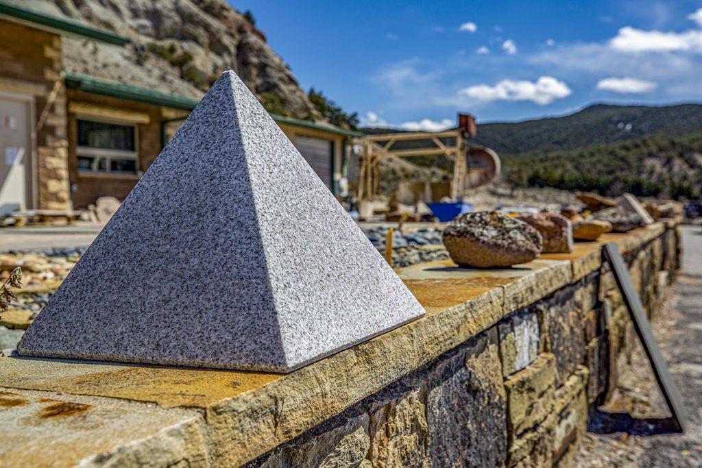 unique stone cutting